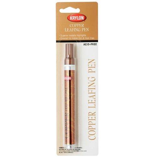 (Krylon Acid-Free Leafing Pen - For Metallic Highlights - Copper (1 Pen))