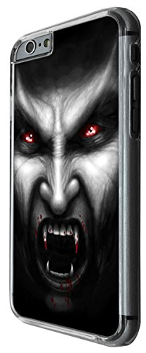 1117 - cool scary vampire blood walking dead day walker night walker Design For iphone 6 6S 4.7'' Fashion Trend CASE Back COVER Plastic&Thin Metal -Clear