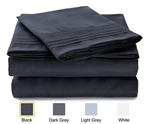 Finnhomy Queen Size Premier Bedding Set of 4 pc 1800 Brushed