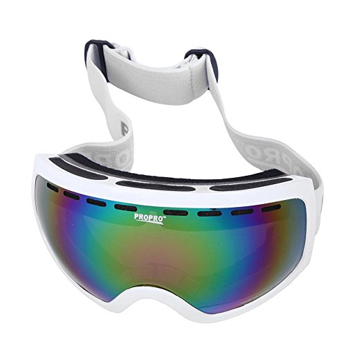 Childplaymate Ski Goggles Double Deck Outdoor Climbing Windproof Anti Fog Glasses for Men Women