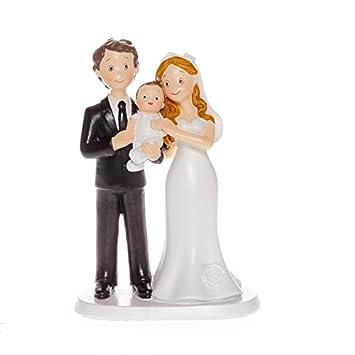 a10949932be78 FIGURINE FIGURINE FIGURINE COUPLE MARIéS AVEC BéBé 17CM  Amazon.fr  Jeux et  Jouets