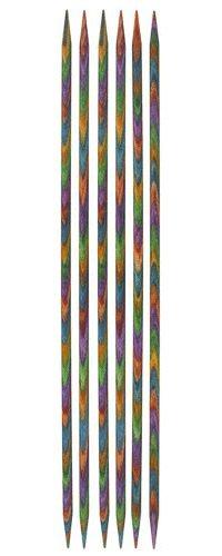 Holz 10 cm Handschuhstricknadeln Symfonie 2.5 Knit Pro Nadelspiel 2,5 3,0 3,5 w/ählbar