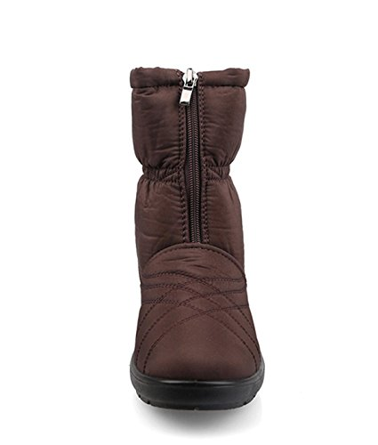 M nieve prueba de a Se Nuevo oras Snow antideslizante Tela Boots Impermeable Confort qfa7wf