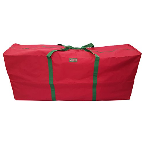 Heavy Duty Christmas Tree Storage Bag Fit upto 6 Foot Artificial Tree Holiday Red Extra Large 48