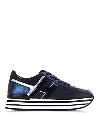 Hogan Luxury Fashion Womens HXW4830CB80LVL0QTW Blue Sneakers | Fall Winter 19