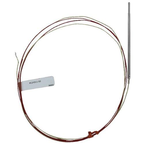 Love J Type Thermocouple, TCS-J, 4'' Probe, 48'' Extension