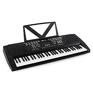 Schubert Ètude-61B teclado electrónico (61 teclas estándar, ideal principiantes, 100 ritmos