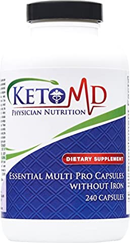 Essential Multi Pro Capsules without Iron (Vitamin D3 Ortho Molecular)