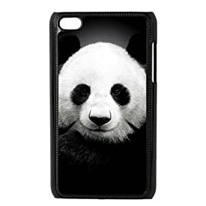 J-LV-F Phone Case Panda,Customized Case For Ipod Touch 4