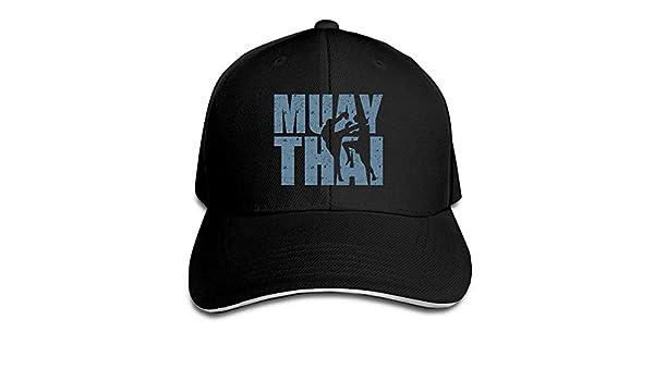 Men s Women s Muay Thai Box Cotton Adjustable Peaked Baseball Cap Adult Sandwich  Hat at Amazon Men s Clothing store  8afcd036444e