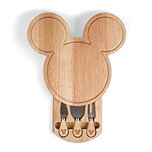 Disney Mickey Mouse Head Shaped Cheese Board & Tools Set