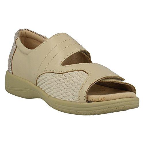 Padders - zapatilla baja mujer Beige - crema