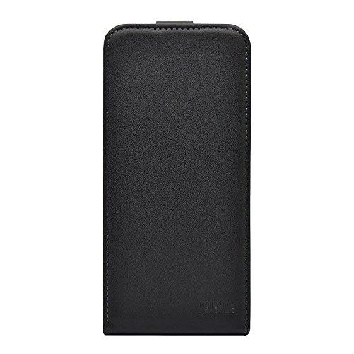 Membrane Funda LG Leon 4G Carcasa Negro Ultra Slim Case Flip Cover Flip Negro