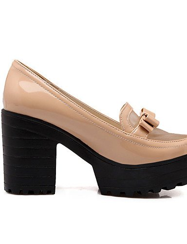 Chaussures chaussures noir Amande talons Talons bureau Habillé gros Uk6 Blanc Travail Soirée À Evénement Talon Almond us8 Femme Cn39 Eu39 amp; Décontracté Ggx dzxZ6d