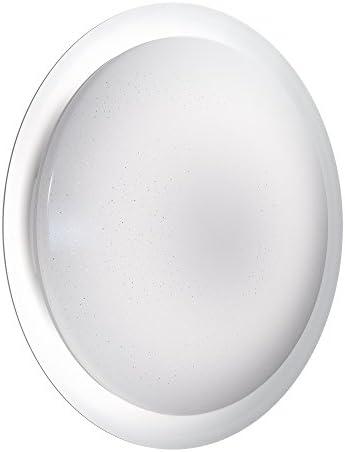 OSRAM LED Wand- und Deckenleuchte, Für Innenanwendungen, Dimmbar und Farbtemperaturwechsel per Fernbedienung, 500,0 mm x 91,0 mm, Orbis Sparkle