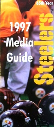 1997 Pittsburgh Steelers NFL Pro Football Media (Pittsburgh Steelers Spiral)