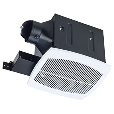Miseno MBF100 110 CFM Ceiling Mounted Ultra Quiet Energy Star Rated Exhaust Fan,