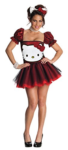 Hello Kitty Red Adult Costume Md Halloween Costume -