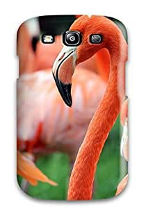 Durable Protector Case Cover With Flamingo Hot Design For Galaxy S3