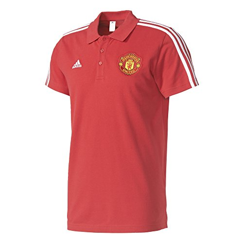 adidas MUFC 3s Polo Manchester United FC, Hombre: Amazon.es: Ropa ...