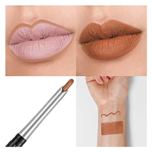 Big Sale! Wintialy Waterproof Professional Lipliner Makeup Waterproof Lip Liner Pencil 17 Colors