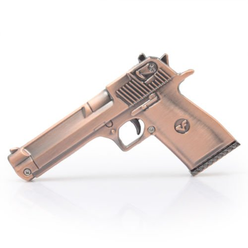 Nice Gift Metal Gold Gun Toy Model 8GB USB 2.0 Memory Stick Flash Pen Drive by USB Flash Drives (Image #1)