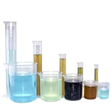 Plastic Beakers and Graduated Cylinders