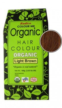 Organic Colour (Radico Colour Me Organic (Light Brown))