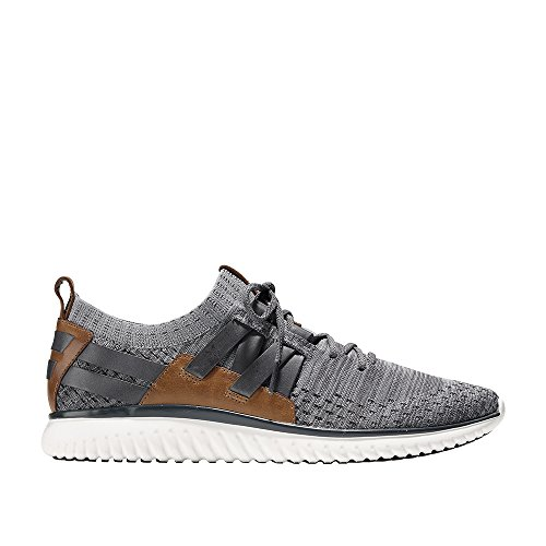 Cole Haan Mens GrandMOtion Woven Sneaker With Stitchlite 9.5 Magnet-Ironstone Knit