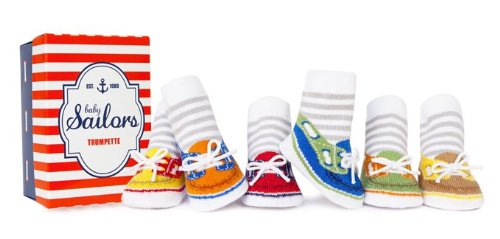 (Trumpette Baby Boys' Sailor, Assorted Bright 0-12 Months)