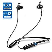 【2019進化版 Bluetooth5.0 & APT-Xコーデック】Bluetooth イヤホン スポーツ Hi-Fi 高音質 ワイヤレス