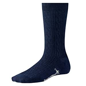 Smartwool Women's Cable Sock (Small, Deep Navy)