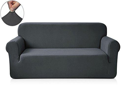 chunyi-1-piece-knit-spandex-fbaric-sofa-slipcovers-loveseat-grey