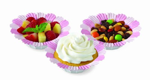 Wilton Pink Blossom Baking Cups, 12 (Blossom Pink Cup)