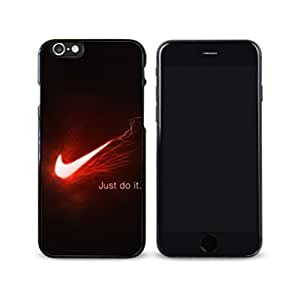 Just Do it Nike logo image Custom iPhone 4/4s Individualized Hard Case