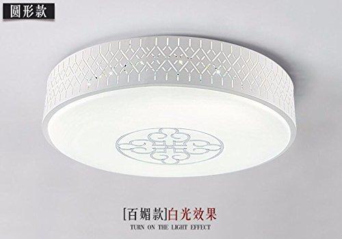 Y-GYiGY Luces LED Lámpara de techo circulares Dormitorio ...