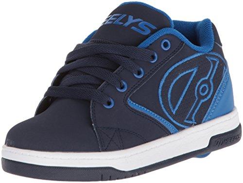 Heelys Boys' Propel 2.0 Tennis Shoe Navy/Blue/White 5 M US Big Kid