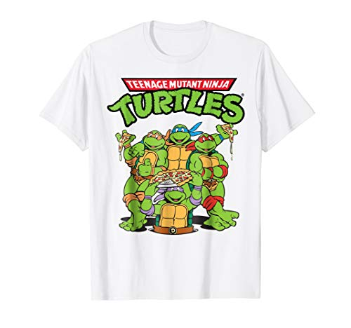 Teenage Mutant Ninja Turtles Pizza Crew T-Shirt (Teenage Mutant Ninja Turtles Pizza Party Shirt)