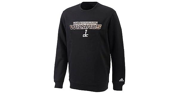 Adidas - Camiseta de NBA Washington Wizards Sudadera Cuello Redondo pequeño Negro: Amazon.es: Deportes y aire libre