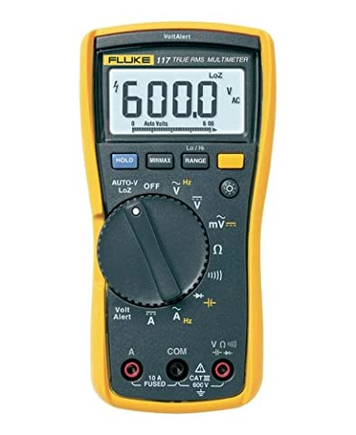 Fluke 117 Electricians True RMS Multimeter - Power Supply Schematic