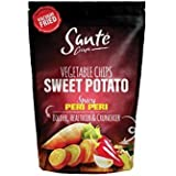 Santé Sweet Potato Chips - 60g (Pack of 2). (Potato- Spicy Peri Peri)