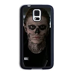 TPU Samsung Galaxy S5 case protective skin cover with American Horror Story poster design #15