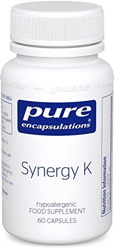 Pure Encapsulations - Synergy K - Vitamin K & D3-60 Capsules