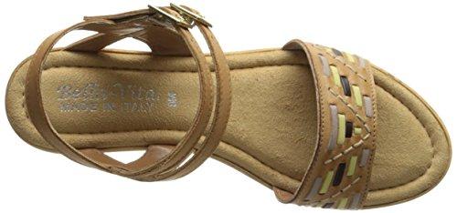 Bella Vita Made In Italy Femmes Padova Wedge Sandale Tan Multi