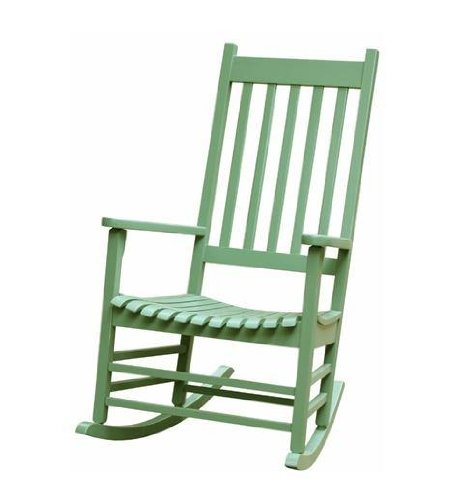 International Concepts Solid Wood Porch Rocker