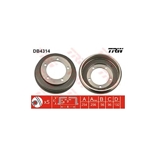 TRW DB4314 Brake Drums: