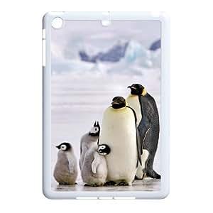 Animal Penguin Custom Durable Hard Plastic Case Cover LUQ355773 For Ipad Mini