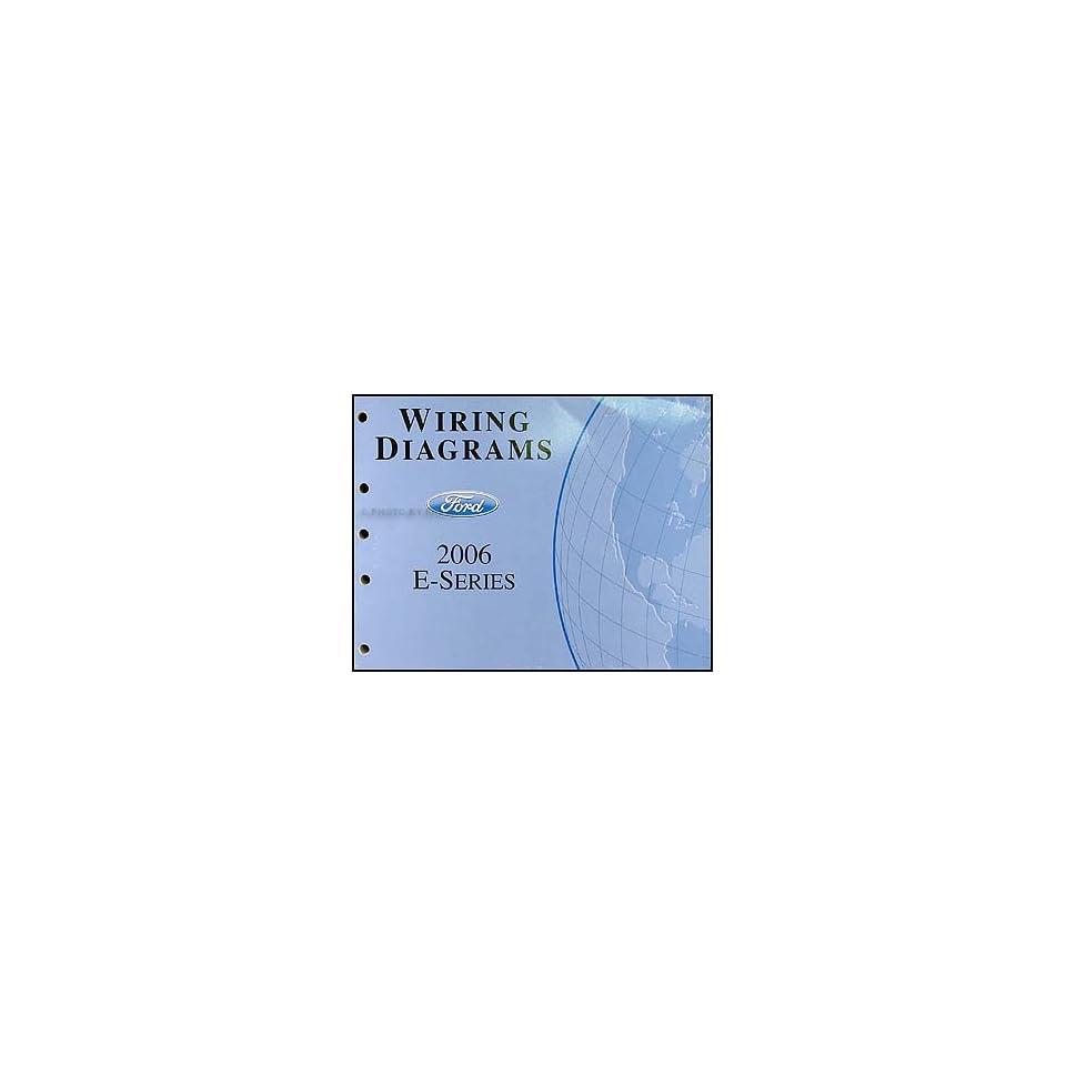 Econoline Van & Club Wagon Wiring Diagram Manual Original Ford Books