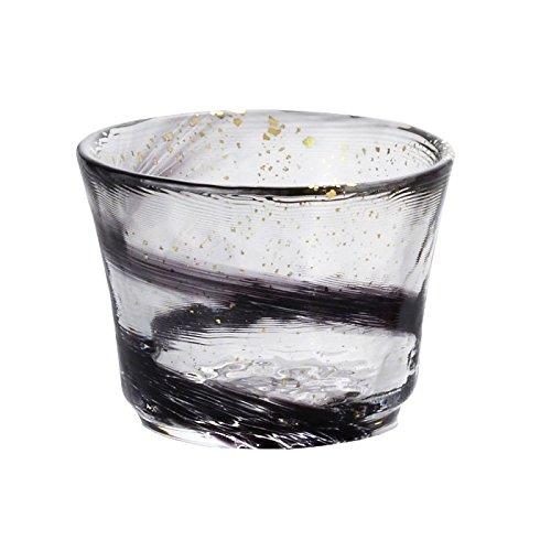 - Tugaru biidoro Glass Sake Cup Night Wind
