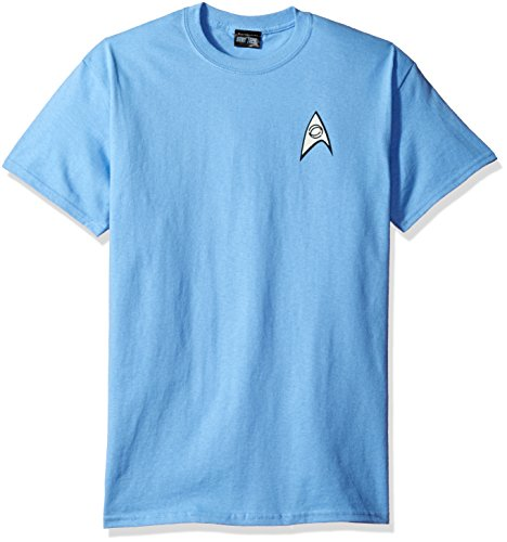 STAR TREK SCIENCE UNIFORM YOUTH Light Blue S/S TEE (Adult_Medium)]()
